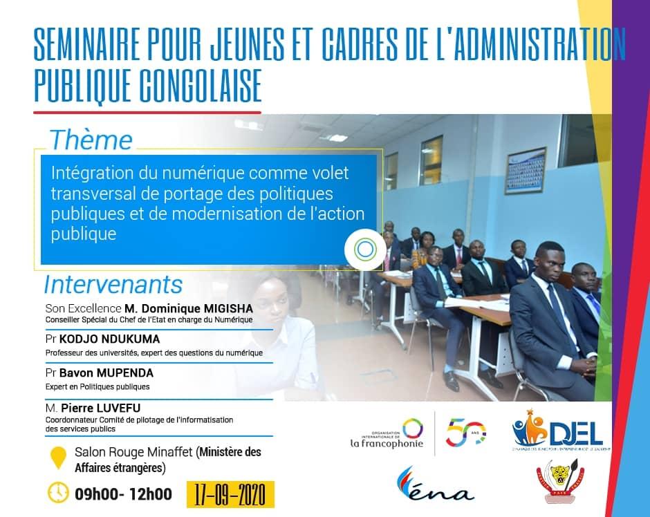 Compte rendu du séminaire sur l'intégration du numérique dans l'action publique