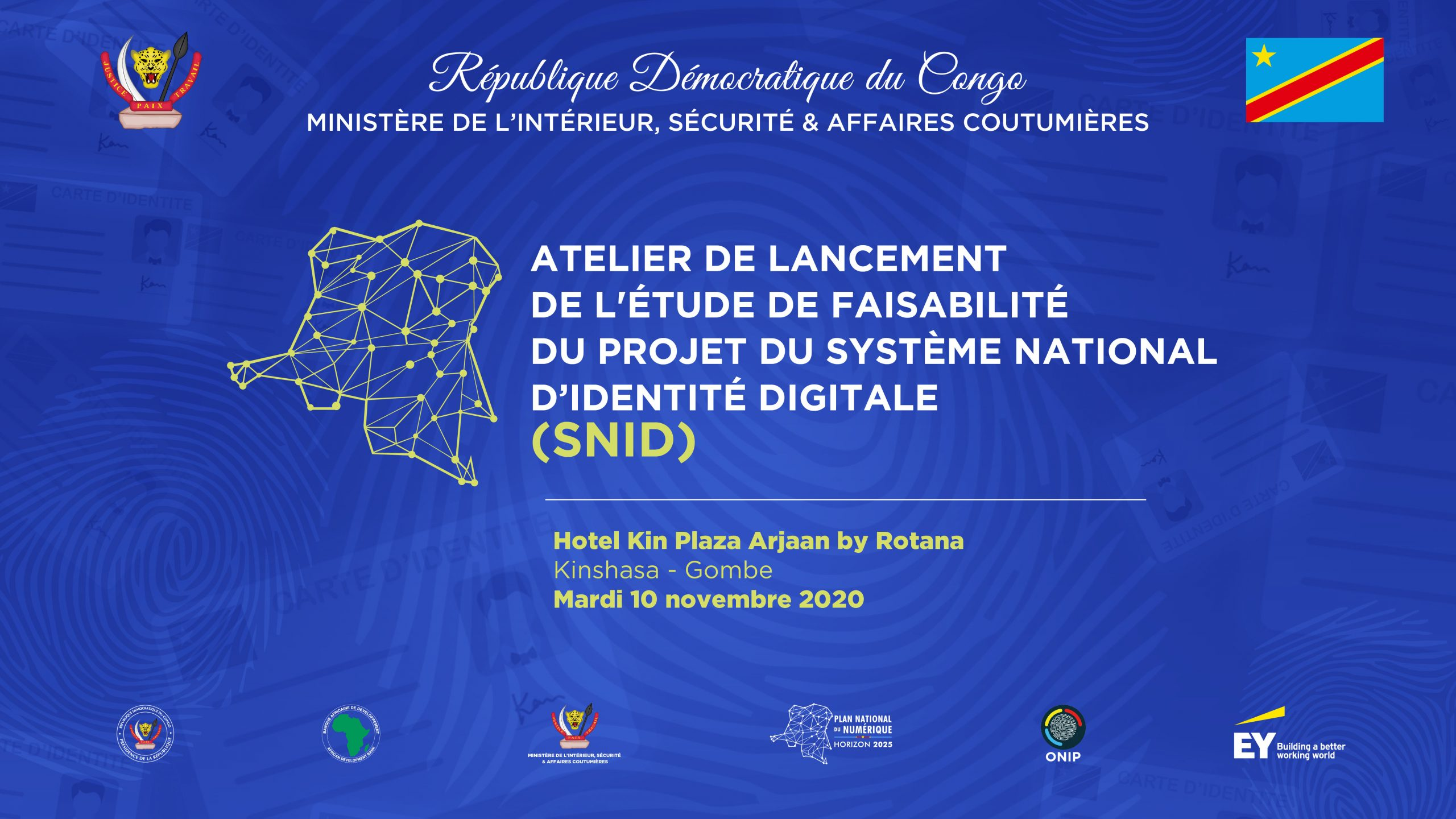 Registre National: la carte d'identité biométrique bientôt une réalité en RDC