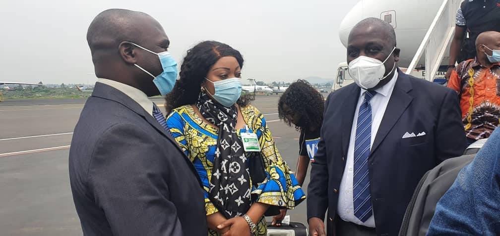 L'Arrivé de Son Excellence le Conseiller Spécial du Chef de l'ETAt à Goma dans le Nord-Kivu